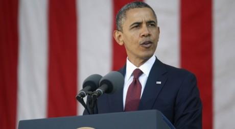 Discours de Barack Obama à Arlington, en Virginie, 11 novembre 2012. Reuters/Jonathan Ernst
