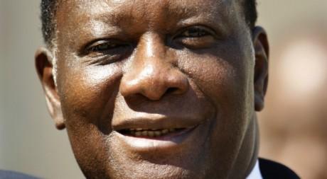 Alassane Ouattara le 26 juillet 2012 à Paris. REUTERS/Charles Platiau