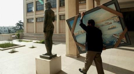 Ecole supérieure des Beaux-Arts d'Alger, 20 mai 2004. AFP PHOTO HOCINE ZAOURAR