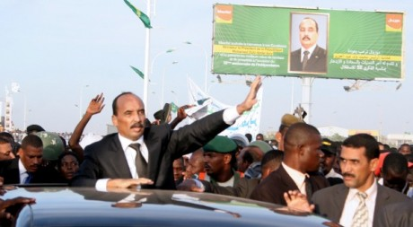 Mohamed Ould Abdel Aziz à Nouakchott, le 24 novembre 2012. AFP/STR