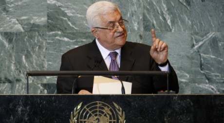 Le président de l'Autorité palestinienne Mahmoud Abbas, le 23 septembre 2011 aux Nations unies, à New York. REUTERS/Mike Segar