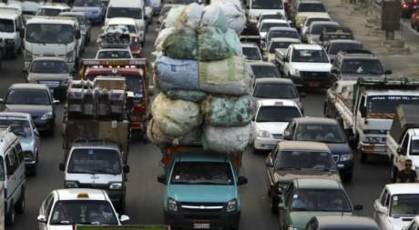 Un embouteillage au Caire, le 8 octobre 2012. REUTERS/Amr Abdallah Dalsh