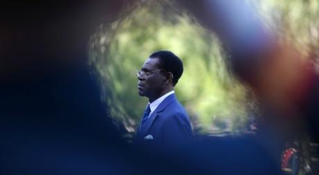 Teodoro Obiang, à Moscou, juin 2011. © NATALIA KOLESNIKOVA / AFP