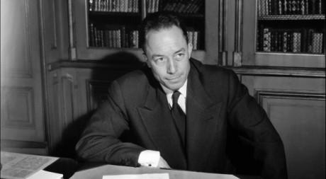 L'écrivain français Albert Camus le 17 octobre 1957 à Paris. AFP