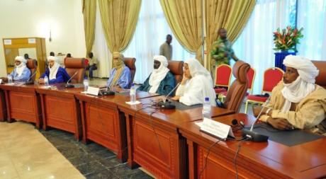 Négociations inter maliennes à Ouagadougou (Burkina Faso) le 4 décembre 2012. AFP/AHMED OUOBA