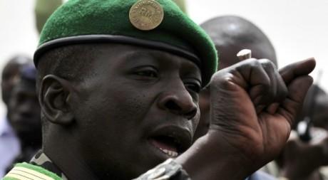 Le capitaine Amadou Haya Sanogo, mars 2012. © ISSOUF SANOGO / AFP