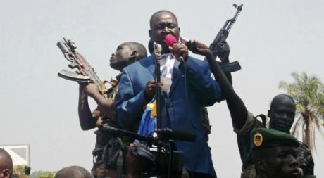 Le président centrafricain François Bozizé demande l'aide de la France, 27 décembre 2012, Bangui. REUTERS/Stringer