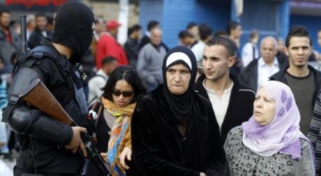Une foule près de la mosquée Al Fatah à Tunis le 2 novembre 2012. Reuters/Anis Mili