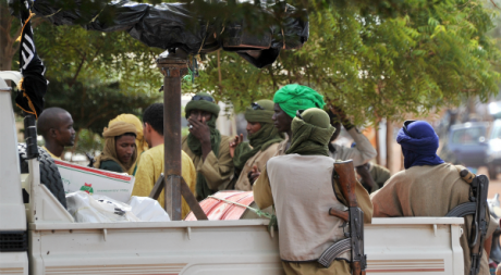 Djihadistes maliens, Gao, septembre 2012. © ISSOUF SANOGO / AFP