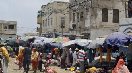 Un marché de djibouti, avril 2011. © SIMON MAINA/ AFP