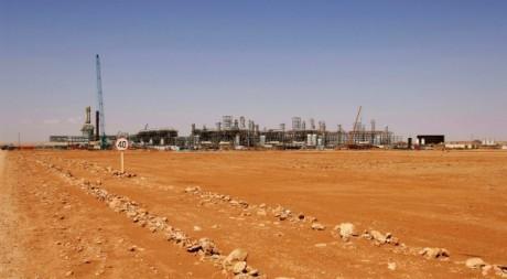 Le site gazier d'In Amenas, en Algérie. © KJETIL ALSVIK / STATOIL / AFP