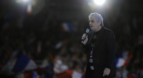 Enrico Macias, Paris, mars 2012. © LIONEL BONAVENTURE / AFP