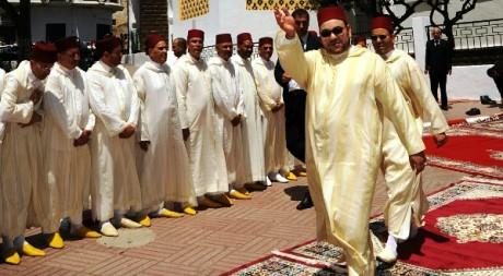 Le roi du Maroc, Mohammed VI, lors du 10e anniversaire de son intronisation, 31 juillet 2009. © Ho New/Reuters.
