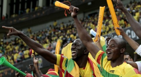 Les fans maliens espèrent une qualification en finale. REUTERS/Rogan Ward.