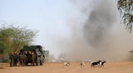Des soldats français à Gao, 10 février 2013. © PASCAL GUYOT / AFP
