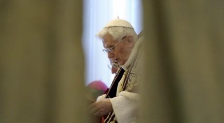 Le pape Benoît XVI, Vatican, 11 février 2013. ©REUTERS/Osservatore Romano