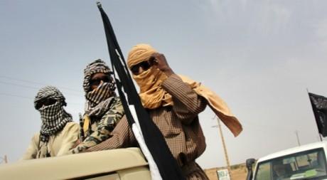 Des combattants du Mujao, Gao, août 2012. ©ROMARIC OLLO HIEN / AFP