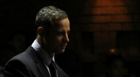 Oscar Pistorius, pretoria, 22 février 2013. © REUTERS/Siphiwe Sibeko