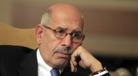 L'opposant Mohamed el-Baradei au Caire le 24 novembre 2012.