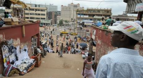 Une vue d'un marché de yaoundé, la capitale du Cameroun, mars 2009. © ISSOUF SANOGO / AFP