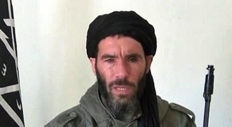 Mokhtar Belmokhtar, capture d'écran d'une vidéo. © HO / ANI / AFP