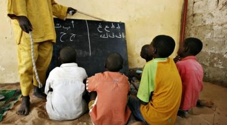 Une école coranique de la banlieue dakaroise de Pikine, mai 2008. © REUTERS/ Finbarr O'Reilly