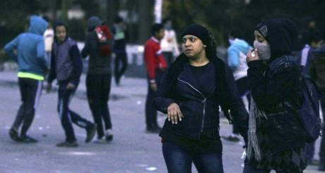 Des 2gyptiennes lors d'une manifestation, 7 mars 2013. © REUTERS/Amr Abdallah