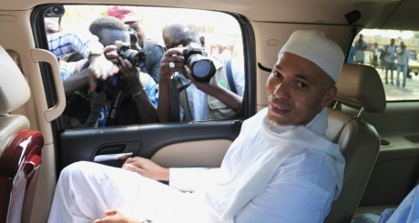 Karim Wade, Dakar, le 15 mars 2013. © SEYLLOU / AFP