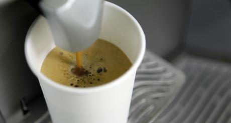 Machine à café, mars 2012 / Reuters