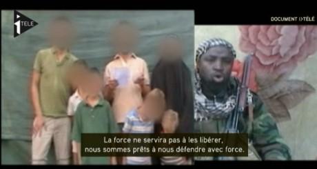 Capture d'écran de la vidéo diffusée par Itélé, 21 mars 2013.