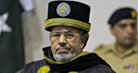 Visite du président égyptien Mohammed Morsi au Pakistan le 18 mars 2013. REUTERS/Mian Khursheed