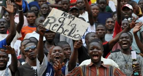 Manifestations de soutien à François Bozizé, janvier 2013. © SIA KAMBOU / AFP