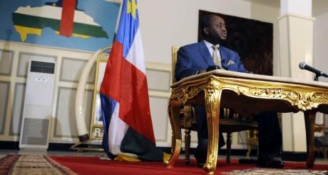 François Bozizé, Bangui, janvier 2013 / SIA KAMBOU / AFP