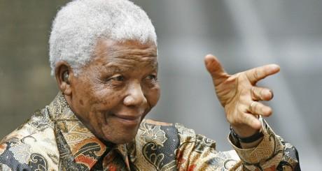 Nelson Mandela à Londres, août 2007  / AFP