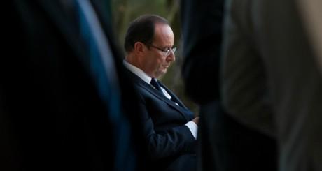 François Hollande au sommet de la Méditerrannée le 5 octobre 2012. REUTERS/Bertrand Langlois