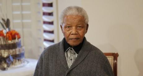Nelson Mandela, dans sa résidence de Qunu, juillet 2012 / REUTERS