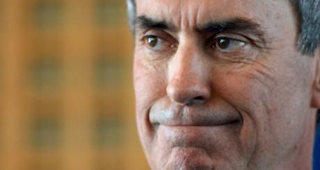 Jérôme Cahuzac au ministère des Finances le 20 mars 2013. MIGUEL MEDINA / AFP