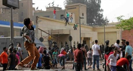 Affrontements au Caire, 7 avril 2013 / AFP