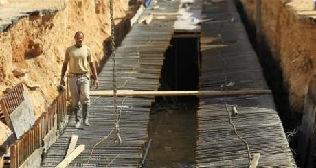 Travailleur immigré sur un chantier de construction en Arabie Saoudite. REUTERS/Fahad Shadeed