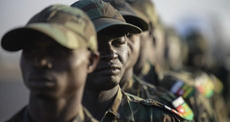 Des soldats de la force ouest-africaine au Mali, janvier 2013 /AFP