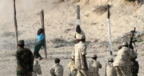 Exécution d'ancien srebelles somaliens, Mogasdiscio, novembre 2011 / REUTERS