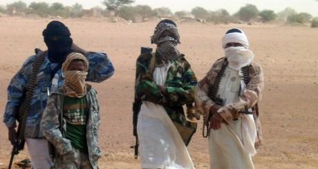De jeunes combattants d'Ansar Dine, Kidal, août 2012 / AFP