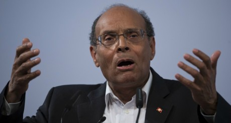 Le président tunisien Moncef Marzouki à Berlin, le 21 mars 2013.JOHN MACDOUGALL / AFP