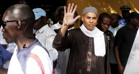 Karim Wade arrêté à son domicile le 15 avril 2013.  AFP