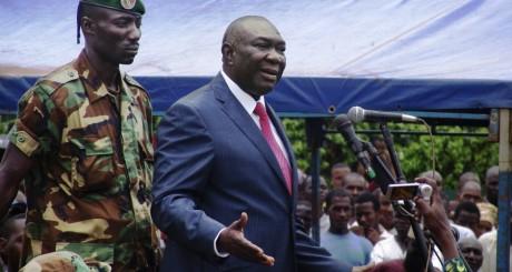 Le président centrafricain, Michel Djotodia, Bangui, 30 mars 2013 / REUTERS