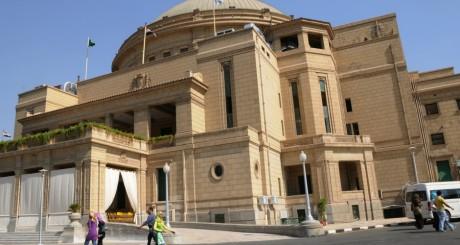 Une vue de l'université du Caire, 2009 / AFP