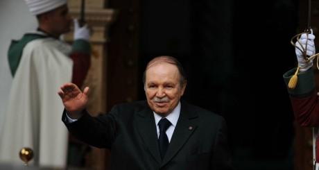 Abdelaziz Bouteflika, Alger, janvier 2013 / AFP