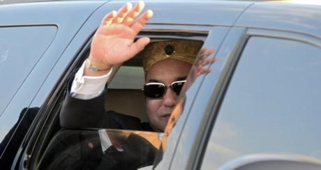 Mohammed VI, lors d'une visite en Jordanie, octobre 2012 / AFP