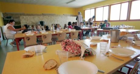 La cantine d'une école maternelle, Angoulême (France), avril 200ç / AFP
