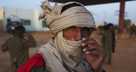 Touareg malien dans la région de Gao, le 3 mars 2013. REUTERS/Joe Penney
